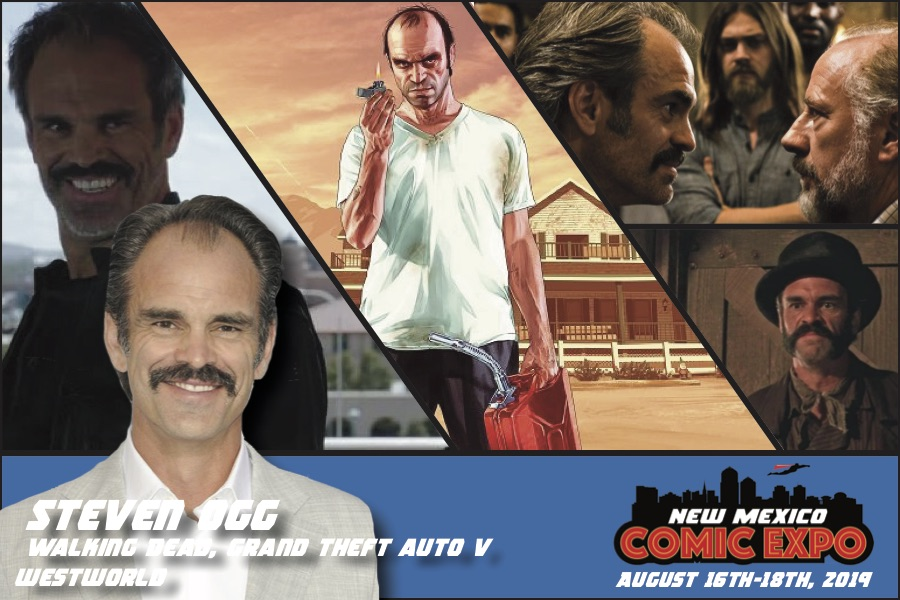 Steven Ogg - New Mexico Comic Expo | August 16th-18th, 2019